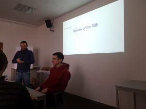Daniel und Simon erklären Gerrit