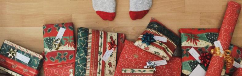 Weihnachtsbaum mit Geschenken | Fotoquelle: Unsplash