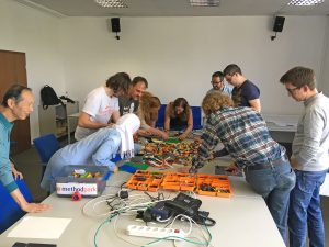 Lego Scrum Workshop | Quelle: Anna Zeidler
