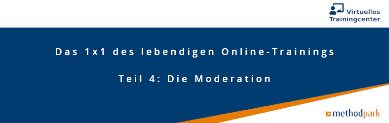 Moderation Online-Trainings