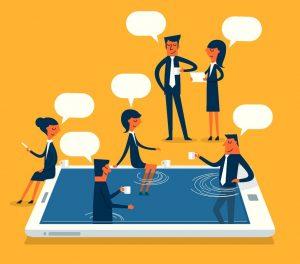 Spontane Kommunikation am Arbeitsplatz