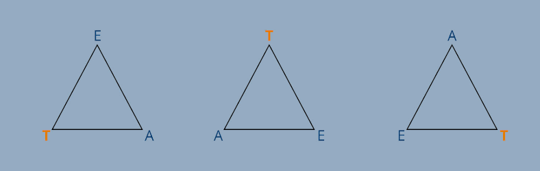 Selbstorganisations Dreieck TEA